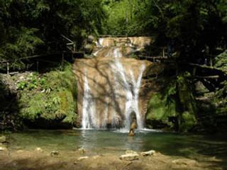 33 водопада столица курортов Лазаревское, достопримечательности Краснодарского края