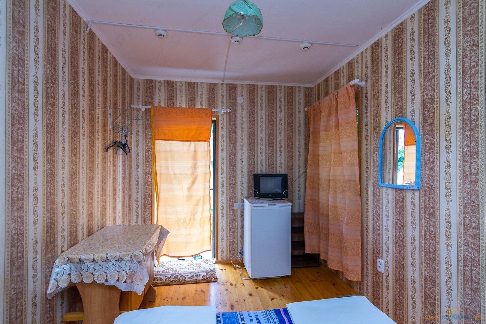 Двухместный номер. База отдыха Полянка, Туапсе, Пляхо