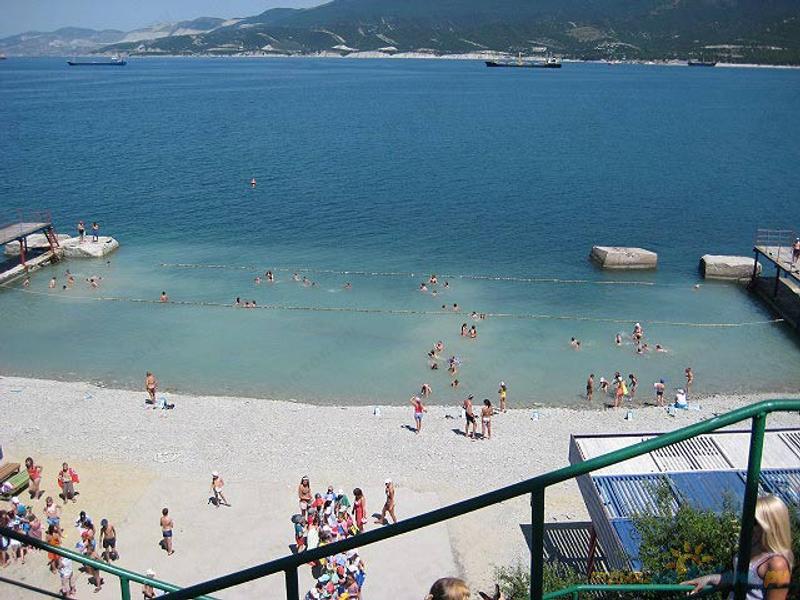 Фото пляжа в широкой балке будды небольшая