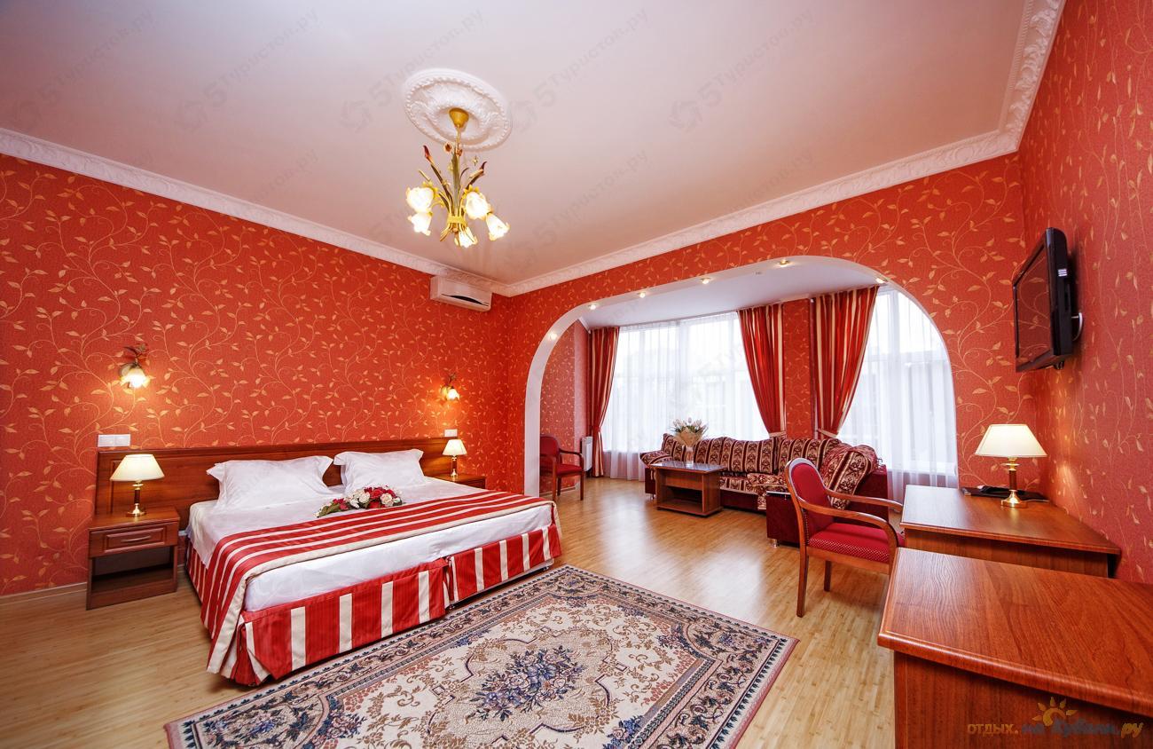 73c7fbbf55c Номер Семейный бутик-отеля Богема-Премиум